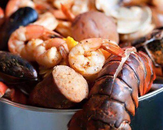 Seafood Boilers Menu